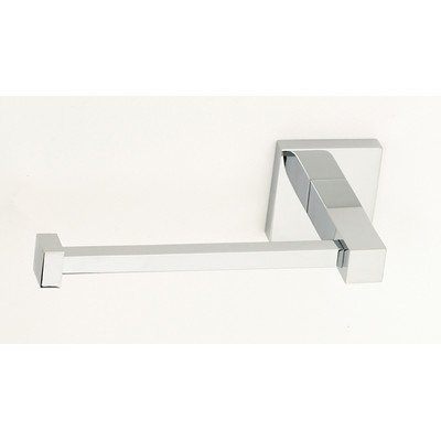 Contemporary II Wall Mounted Single Post Toilet Paper Holder Finish: Polished Chrome (Alno Tissue Holder Toilet)