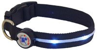 Dogs in Play Multi-Function LED Lighted Dog Collars – Mediu 14″-18″ long, 1″ wid3, My Pet Supplies