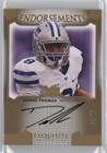 Daniel Thomas #53/75 (Football Card) 2011 Upper Deck Exquisite Collection - Endorsements #E-DT ()