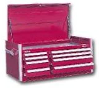 "product image for 46"" 8-Drawer Top Chest - Red"