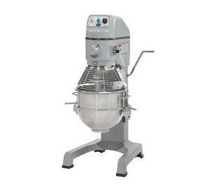 30 Quart Floor Mixer - Globe Food SP30 3-Speed 30 Qt Floor Model Vertical Mixer with Bowl