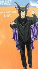 Bat Costume Target - Adult Costume - Bat - Black and Purple - One Size Fits Most (ONE SIZE)