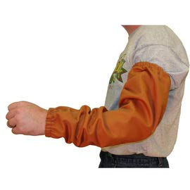 Stanco Safety Products One Size Fits Most Rust Brown Cotton Flame Resistant Sleeves with Elastic Closure