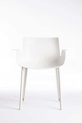 Astonishing Kartell Piuma Chairs White 54X62X77 Cm Inzonedesignstudio Interior Chair Design Inzonedesignstudiocom