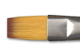 Richeson Orange Synthetic Brush Series 9164 Bright 3