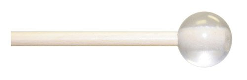 Mike Balter 92B Marching Hard Keyboard Mallets with Birch Handles and 1 1/8-Inch Lexan Ball