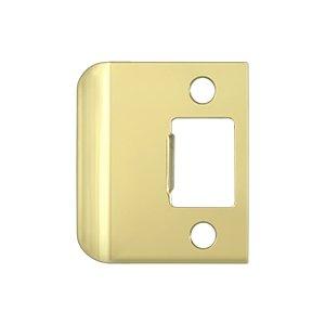 Polished Brass Strike Plate - Deltana SPE200 2
