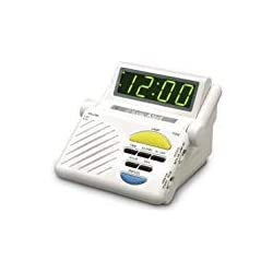 Sonic Alert SB1000 Sonic Boom Loud Vibrating Alarm Clock with Built In Receiver Athletics, Exercise, Workout, Sport, Fitness