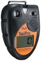 BW Technologies 54-45-01VD ToxiPro Polycarbonate Carbon Monoxide (CO) Single Gas Detector, 0-999 ppm Measuring Range by BW Technologies