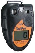 Monoxide Co Single Gas Detector - BW Technologies 54-45-01VD ToxiPro Polycarbonate Carbon Monoxide (CO) Single Gas Detector, 0-999 ppm Measuring Range by BW Technologies