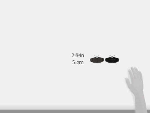 ACDelco 14D610CH Advantage Ceramic Rear Disc Brake Pad Set