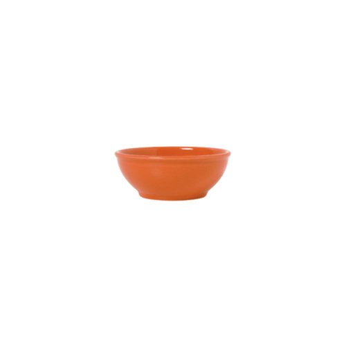 Syracuse China Cantina Colored Glaze Cayenne Oatmeal Bowl, 18 Ounce - 12 per ()
