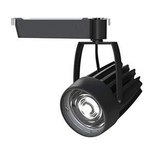 OKAMURA 配線ダクトレール用 LEDスポットライト エコ之助スーパー鮮度クン LED54W 温白色(3500K) ミディアム配光(Mレンズ) 高演色高彩度 本体色:黒 OECD4SRHN50(Mレンズ)   B07RS1HBMK