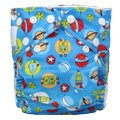 Charlie Banana Reusable Cloth Diaper 2 in 1 (One size, Orbit), Health Care Stuffs