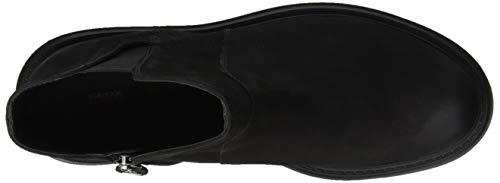 Geox Botas Para black D E Chelsea Asheely Mujer C9999 tr6tqPpx