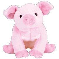 TY Beanie Baby - HAMLET the Pig
