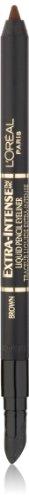 L'Oreal Paris Extra-Intense Liquid Pencil Eyeliner, Brown, 0.03 Ounces