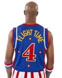Harlem Globetrotters Flight Time Replica Jersey - Size: S - Blue (Harlem Globe Trotters Basketball)