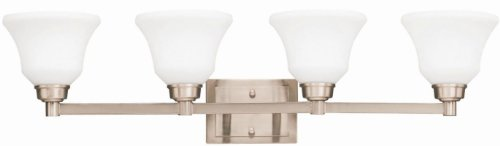 Kichler 5391NI Langford Bath 4-Light, Brushed Nickel