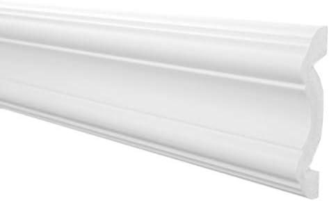 blanc 10 M/ètres Profil Plat Eps Formfest Marbet 17x75mm B-17 5 Faire