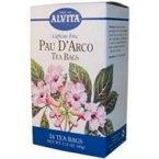 Alvita Caffeine Free Pau D'Arco Tea - 24 Tea Bags