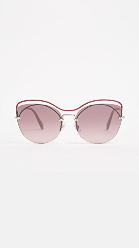 Cateye pinkgradpinkmirrorsilver raspberry 60 50ts Da In Mu Miu Scenique Occhiali Piano Bar C4oteg Sole Lampone Rosso qCptZgw