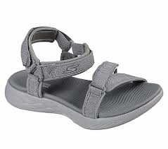 Skechers Women's Performance, On The Go 600 Radiant Sandals Gray 8 M