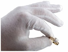 Jewelry Handling Gloves- Mens 12Pack by Jewelers Supermarket