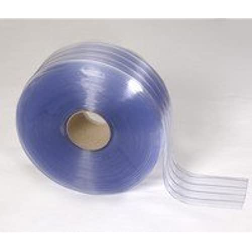 150u0027 Roll - 8  Wide Ribbed PVC Plastic Strip Curtain for Walk In Coolers Warehouse Doors and Clean Rooms  sc 1 st  Amazon.com & Plastic Door Curtain: Amazon.com pezcame.com