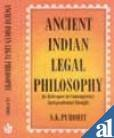 Ancient India Legal Philosophy : Its Relevance to Contemporary Jurisprudential Thought, Purohit, S. K., 8171005837