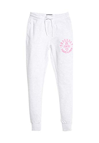 Superdry Jogger Damen Track & Field Ice Marl