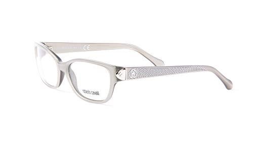 Roberto Cavalli Grande Soeur Eyeglass Frames 53mm Silver (Roberto Cavalli Silver Lens)