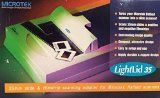MICROTEK LightLid 35: 35mm slide & filmstrip scanning adapter for Microtek flatbed scanners