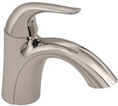 Gerber Plumbing G0040029 Viper Lavatory Faucet with Metal Touch Down Drain, Single Hole Mount, One Handle, 1.2 GPM, Chrome, 6.125