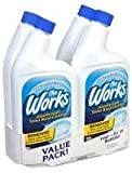 The Works 074157640105 Disinfectant Toilet Bowl Cleaner 32oz (4 Pack)