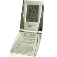 Westclox 70015 Folding LCD Travel Alarm Clock by Salton