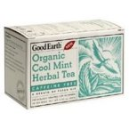 Good Earth Organic Cool Mint Herbal Tea -- 18 Tea Bags