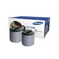 Clp P300b Laser Toner (Samsung CLP-P300B Black Toner (2-Pack))