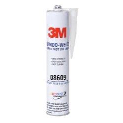 3M 08609 Window-Weld Super Fast Urethane Black Cartridge - 10.5 fl oz. ()