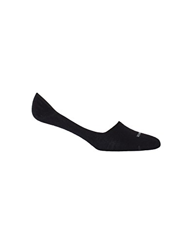 Icebreaker Women's Lifestyle Fine Gauge Ultra Light No Show Socks, Black, Small