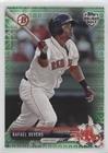 Rafael Devers #90/99 (Baseball Card) 2017 Topps Holiday Bowman - [Base] - Green Holiday Sweater (Thrd Insert)