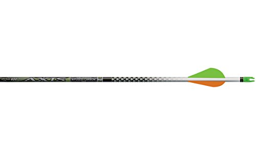 Easton Axis Infused Carbon Half-Dozen Arrows w/ HIT Insert-2