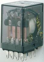 TE CONNECTIVITY / POTTER & BRUMFIELD KHAU-11A11-120 POWER RELAY, DPDT, 120VAC, 3A, PLUG IN