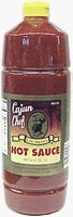 Cajun Chef Hot Sauce 34 Oz