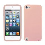 - Asmyna Solid Skin Cover Pink for iPod touch 5