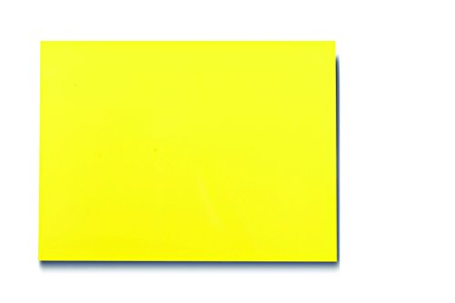 25 Dry Erase Magnet Shelf Labels 2'' x 3'' - Yellow - 20 mil by Discount Magnet