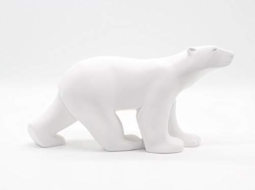 Polar Bear in Stride Ours Blanc by Francois Pompon Large