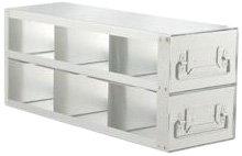 Alkali Scientific UFD-323 Stainless Steel Cryostorage Box Drawer Rack for 3
