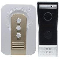 IP Video Door Phone Intercom System (Remote Monitoring, Unlocking, 2-Way Audio, Push Video) - Distributed by NAC Wire and Cables by PIMG
