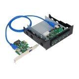 Superspeed USB3.0 Bay Hub Kit with A Frontaccessible 4PORT Bay Hub  A 2-PORT Pci, Best Gadgets